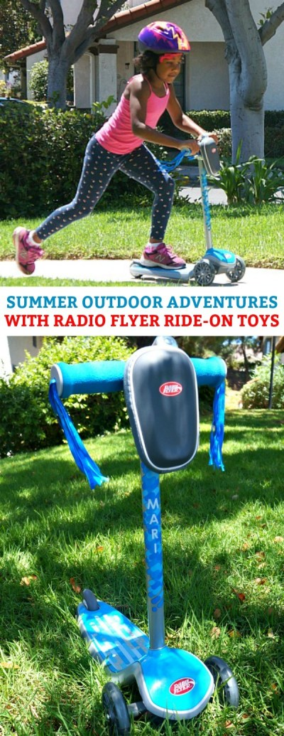 Imagine and Play - Summer Outdoor Adventures Under The Sun With Radio Flyer!