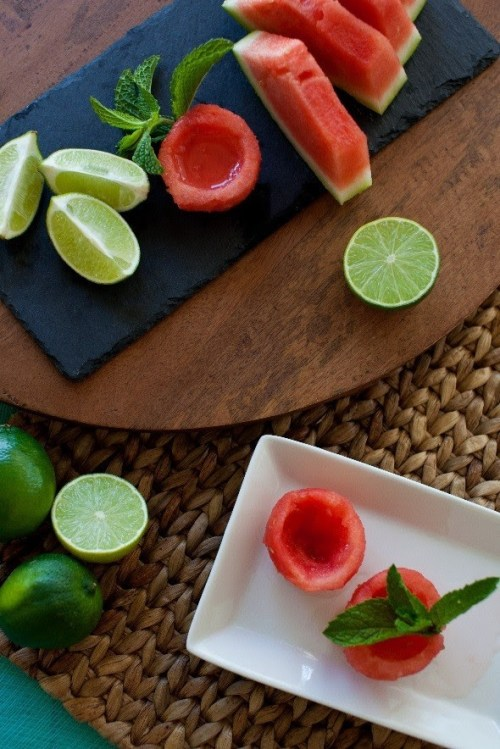 watermelon margarita balls recipe, a new kind of watermelon cocktail