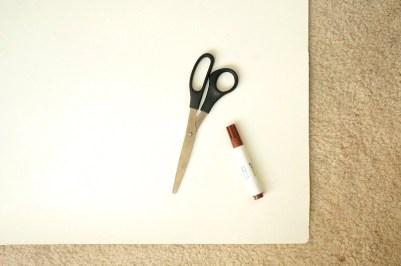 Fall art project materials