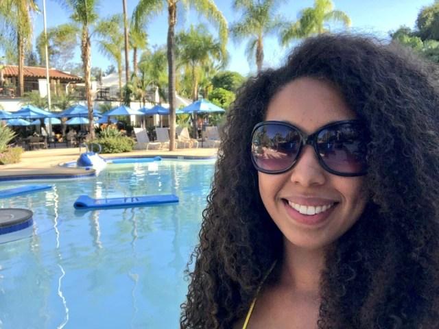 Deanna Underwood at Glen Ivy Hot Springs Spa in Corona California