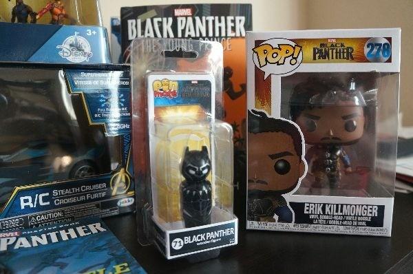 Black Panther Erik Killmonger Funko Pop and Funko Mini
