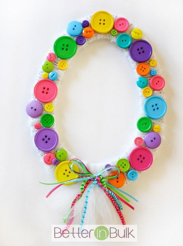 Spring-Easter-Egg-Button-Wreath