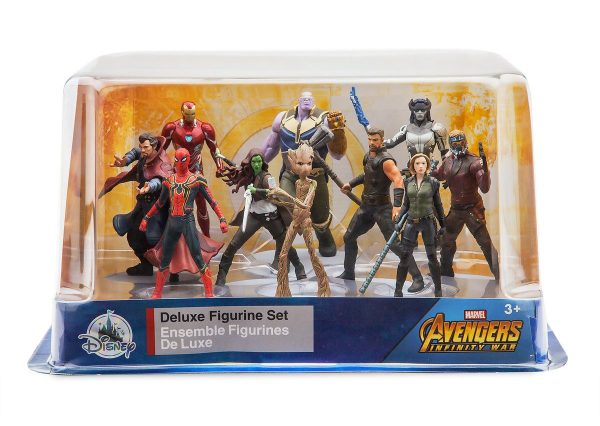 Avengers Infinity War Action Figurines at the Disney Store