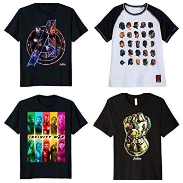 Avengers Infinity War tshirts