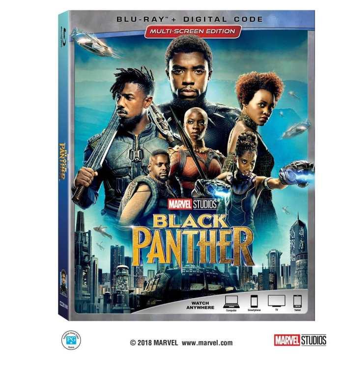 Marvel Studios Black Panther Blu-ray DVD