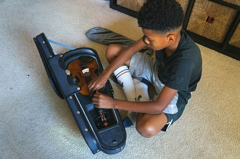 Yamaha student violin a great violin for kids