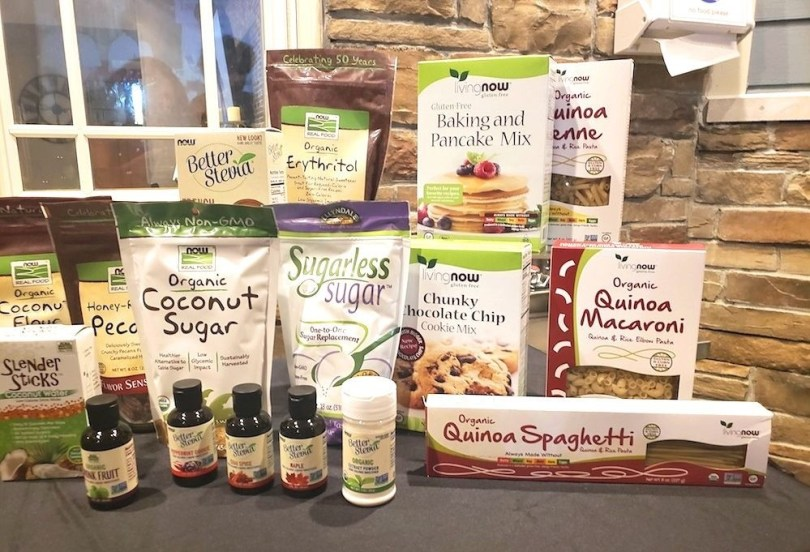 Living NOW gluten free natural foods and NOW Real Food products