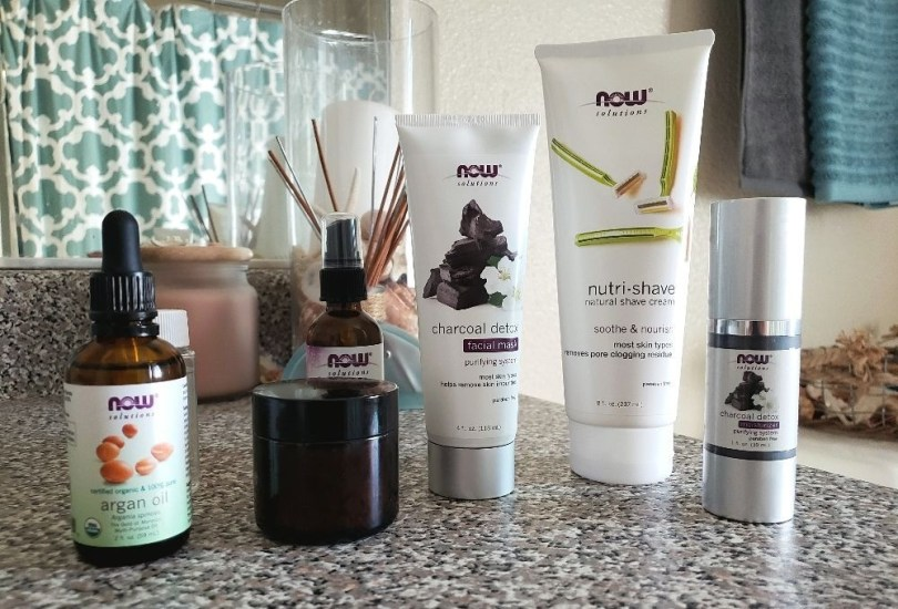 NOW Solutions everyday essentials products for skin hair and body
