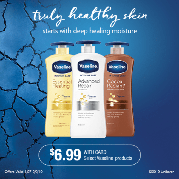 Vaseline Intensive Care Body Lotion at CVS