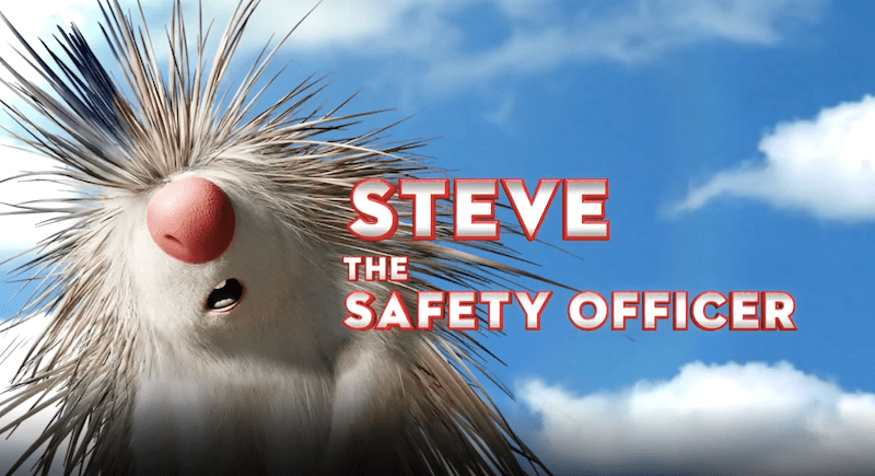 Wonder Park characters - Steve the safety officer