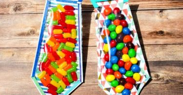 DIY Candy tie for Father's Day - Natural Beach Living