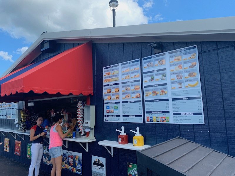 Cooperstown Dreams Park tips - 2019 snack bar menu