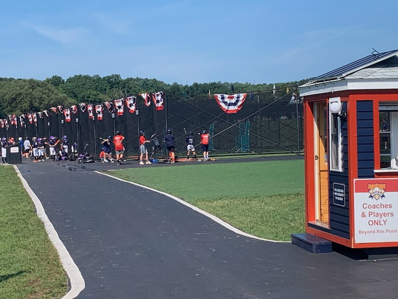 Players only batting cages at Dreams Park