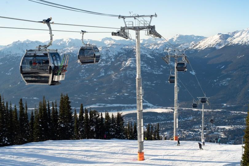 Whistler ski lifts