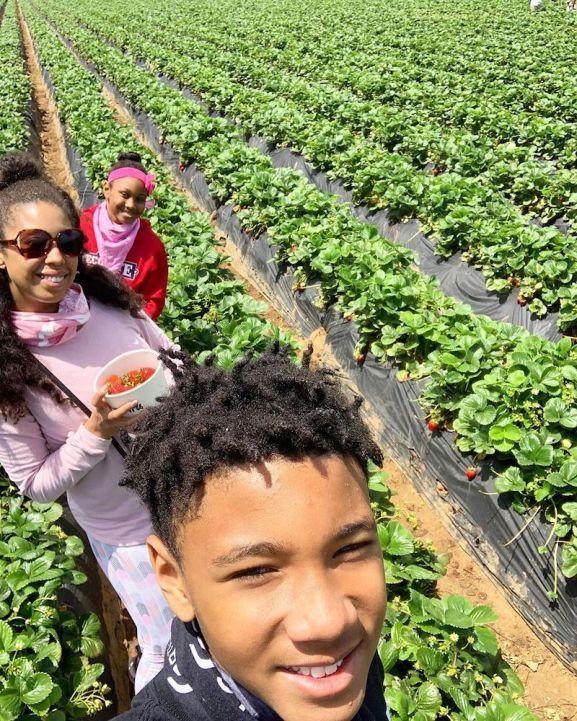 Strawberry picking at Carlsbad Strawberry Farm California - Honey + Lime