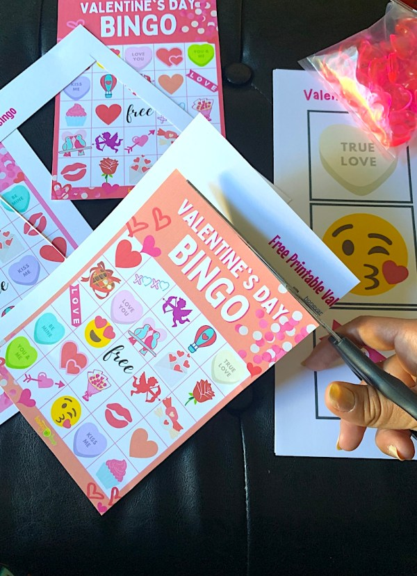 Valentine's Day bingo printable