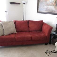 How To Make A Slipcover For Sofa Best Washable Couch Part 1 Honeybear Lane