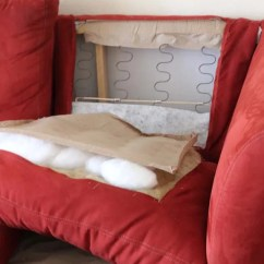 Reupholstering Sofa Cushions Do It Yourself Slipcover Sofas How To Make A Couch Part 1