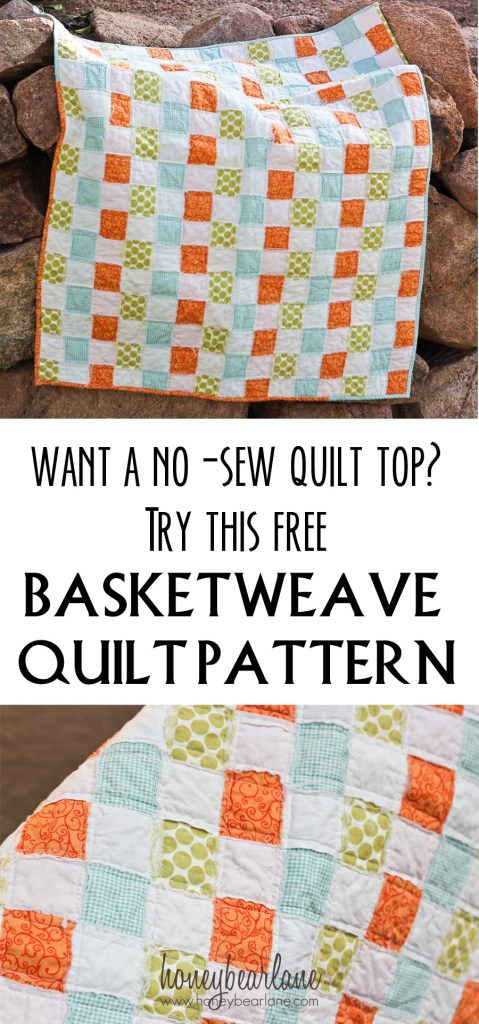 no sew quilt pattern