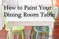Painting the Dining Room Table: A Survivor's Story ...