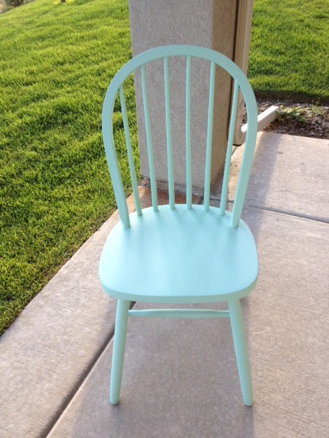 diy painted windsor chairs black and white striped chair cushions ombre honeybear lane for