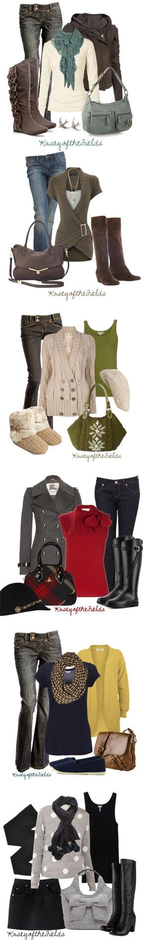 cozy fall fashions