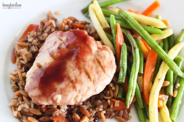 Lean Cuisine Pomegrante Chicken