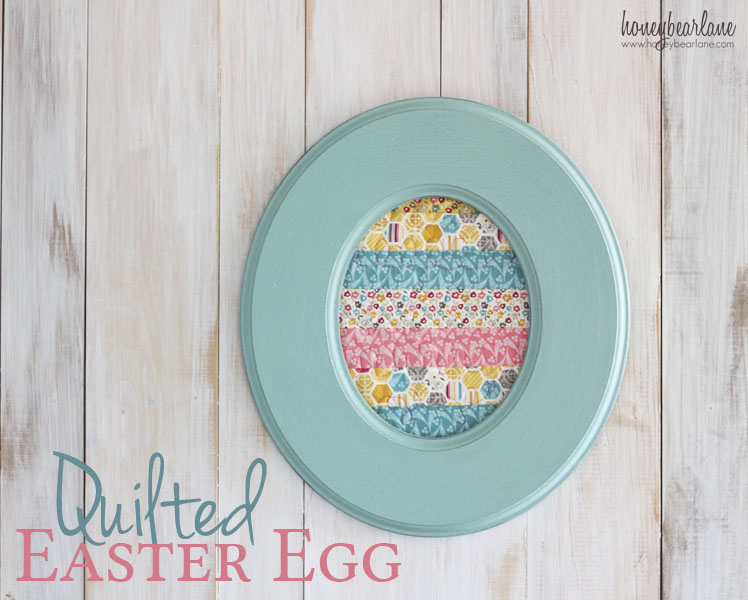 Quilted Easter Egg 1