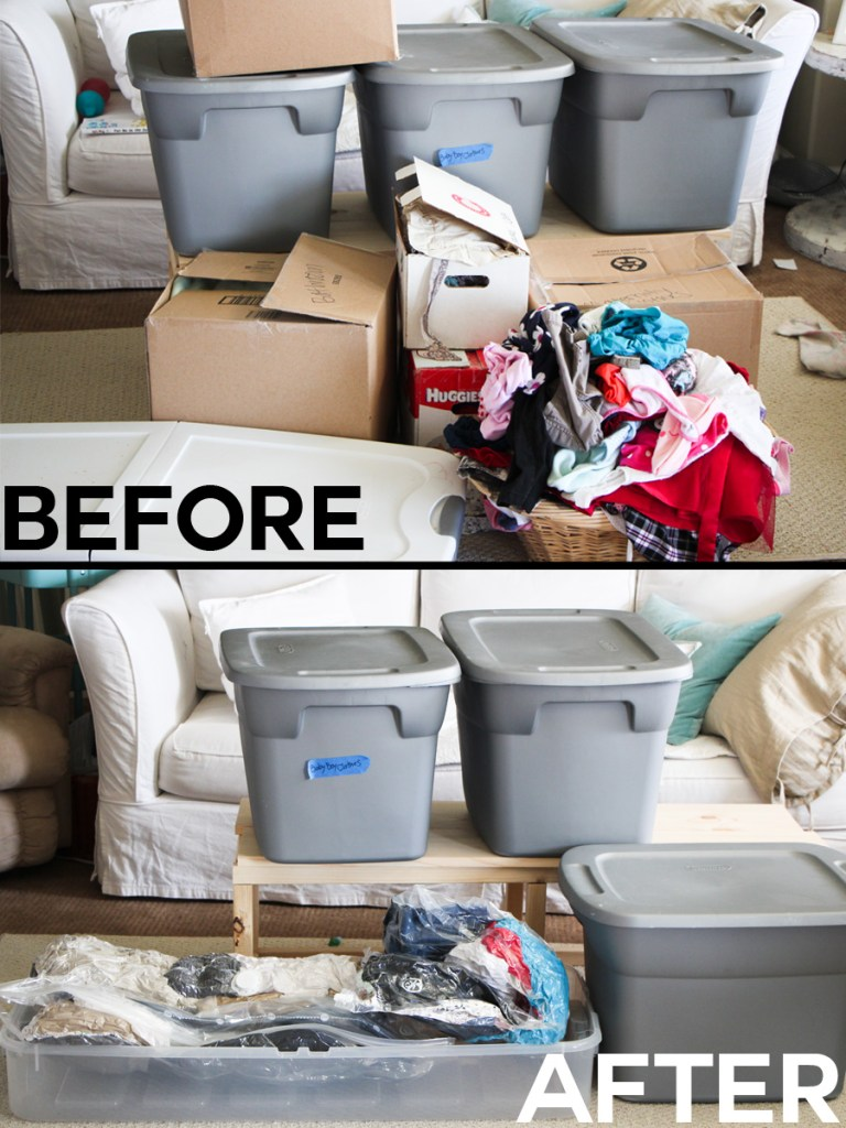 organization before and after