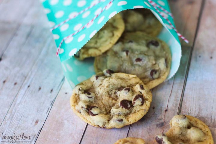 chewy chocolate chip cookie recipe