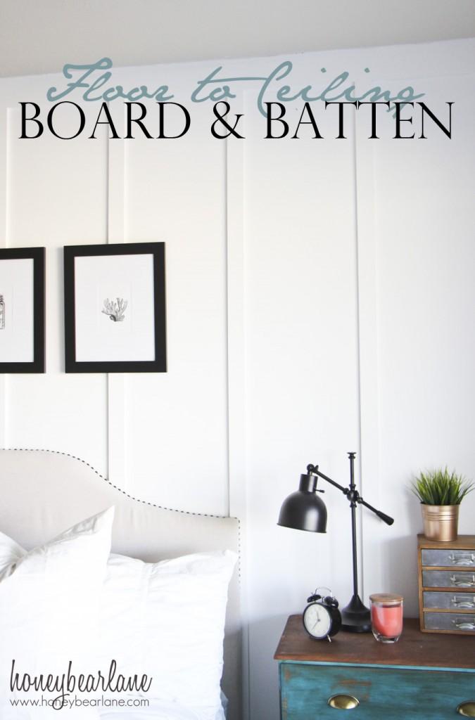Floor To Ceiling Board And Batten Tutorial Honeybear Lane
