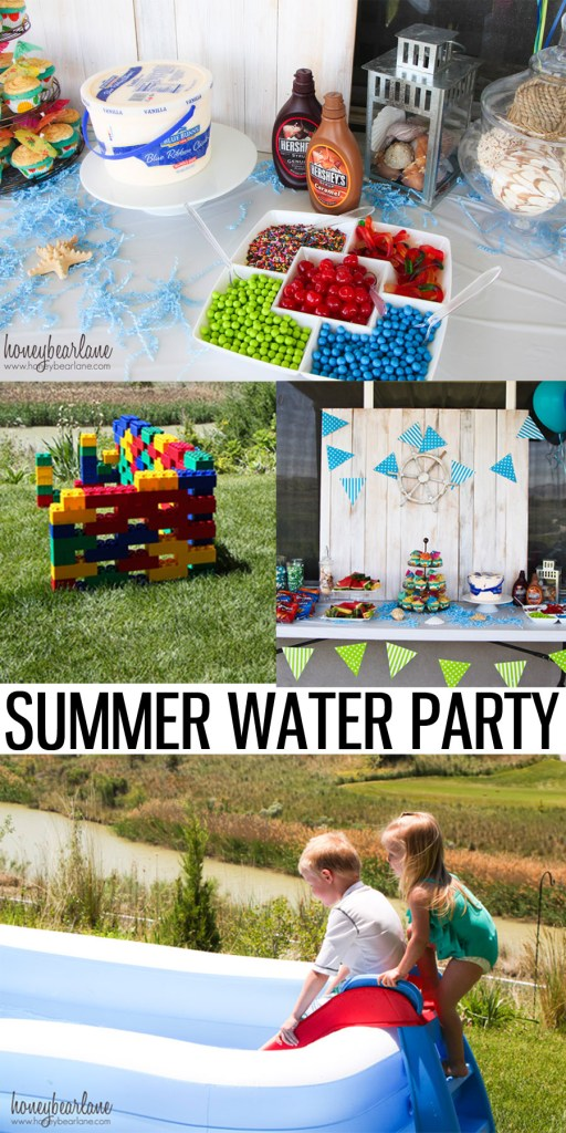 summer water party ideas