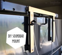 DIY Soundbar Mount - HoneyBear Lane