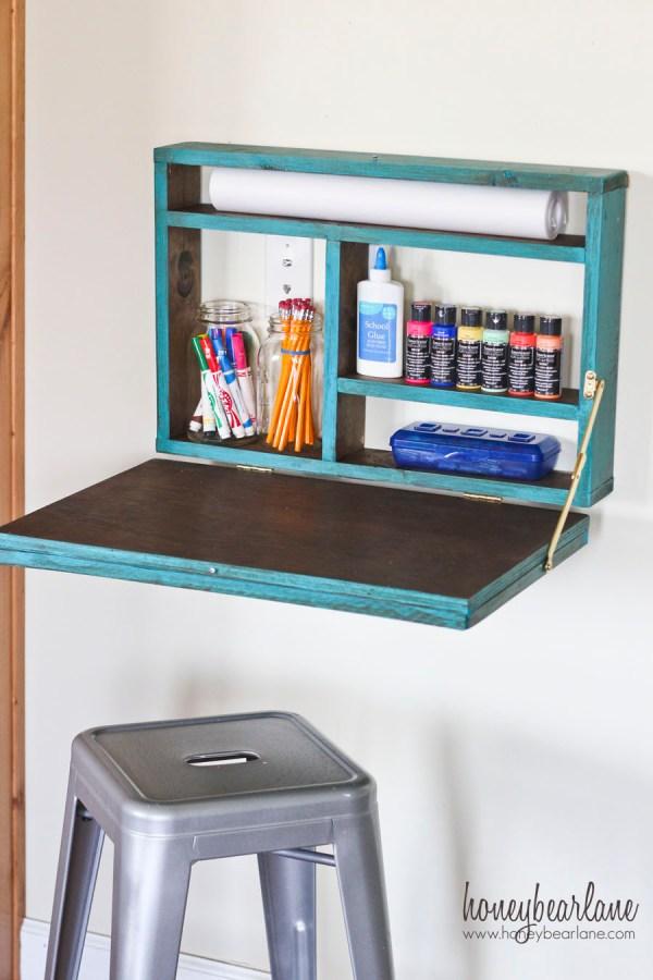 Painted Fold Desk - Honeybear Lane