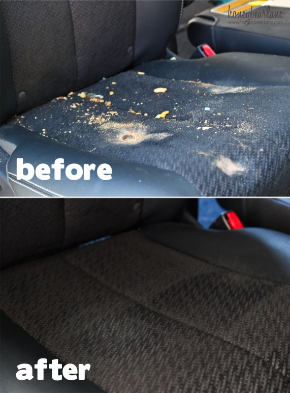 before after car upholstery