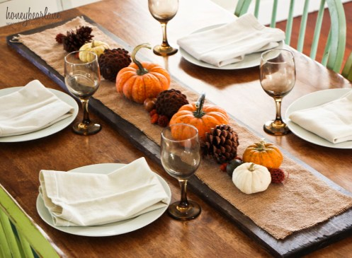 thanksgiving board centerpiece