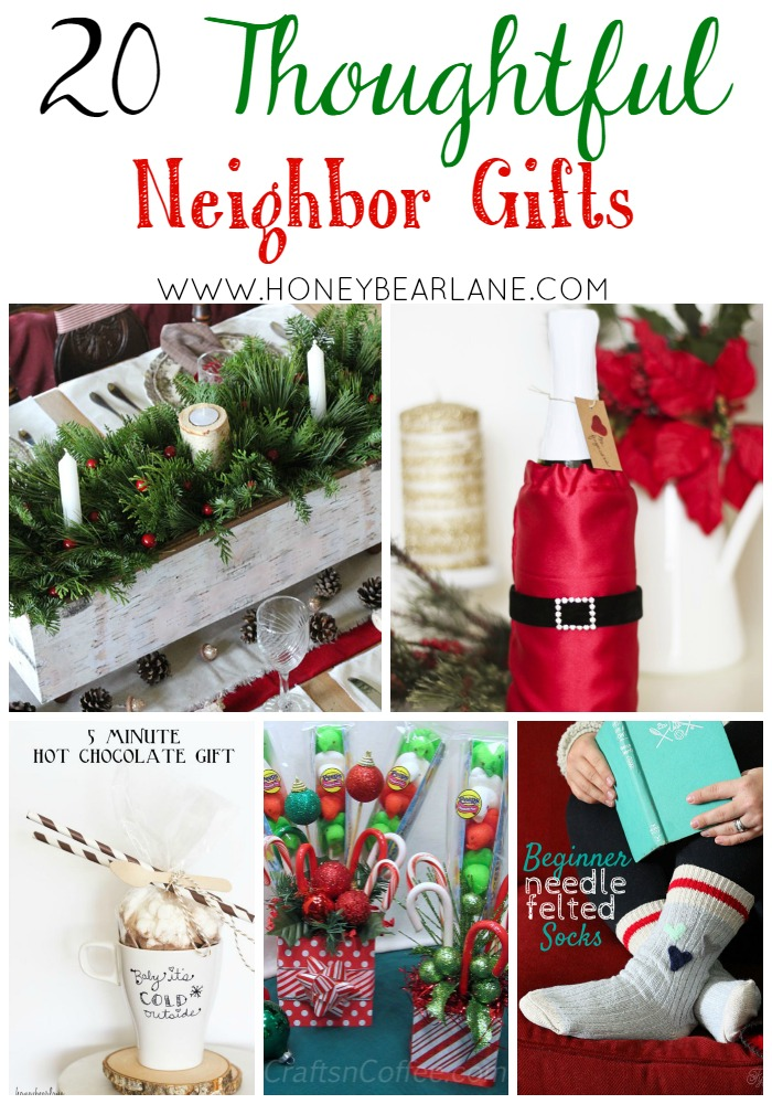 20 Thoughtful Neighbor Gift Ideas HoneyBear Lane