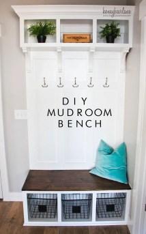 Diy Mudroom Bench Part 2 - Honeybear Lane
