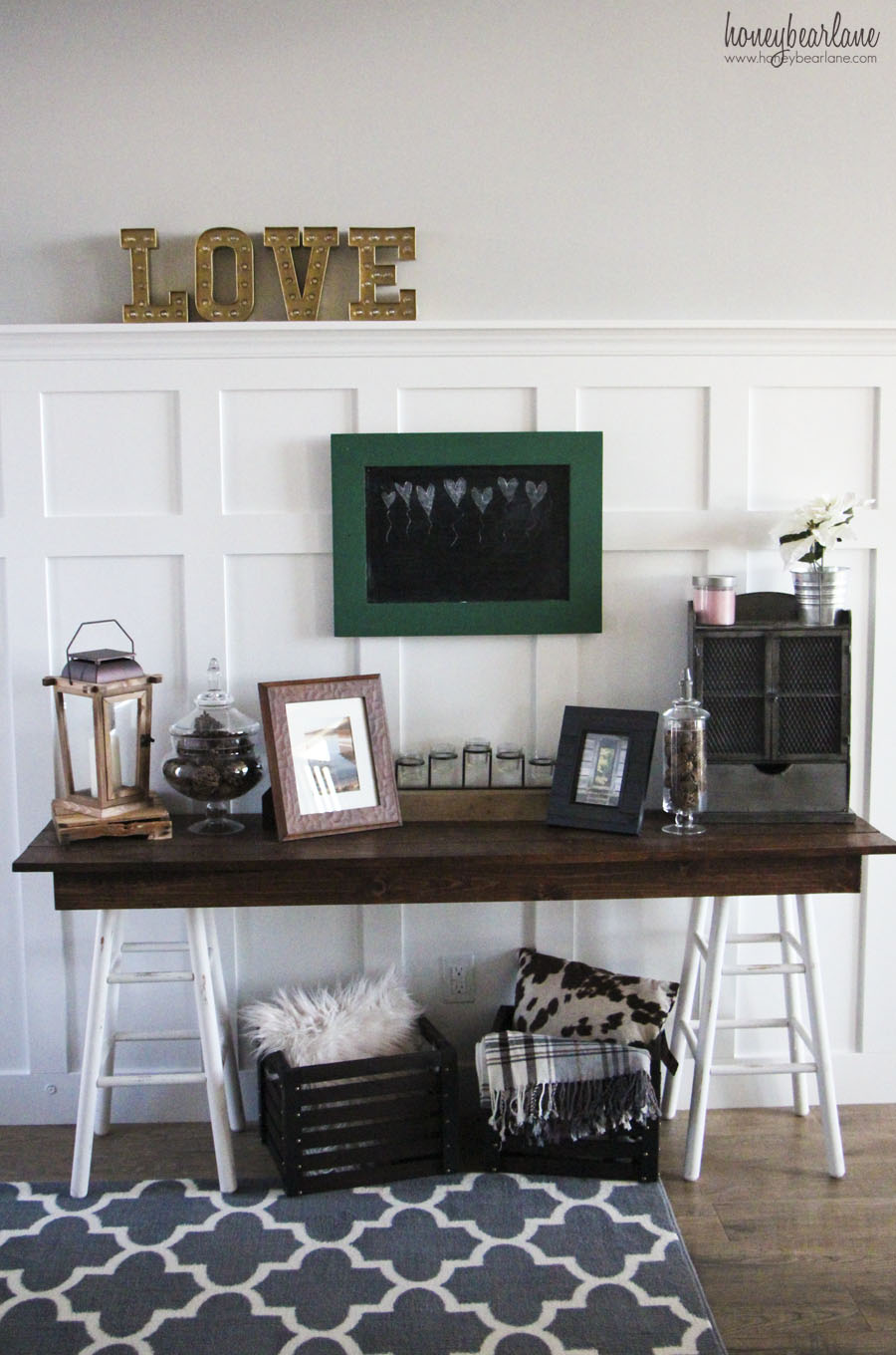 Rustic Entryway  Honeybear Lane