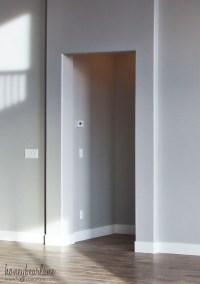 DIY Doorway Trim