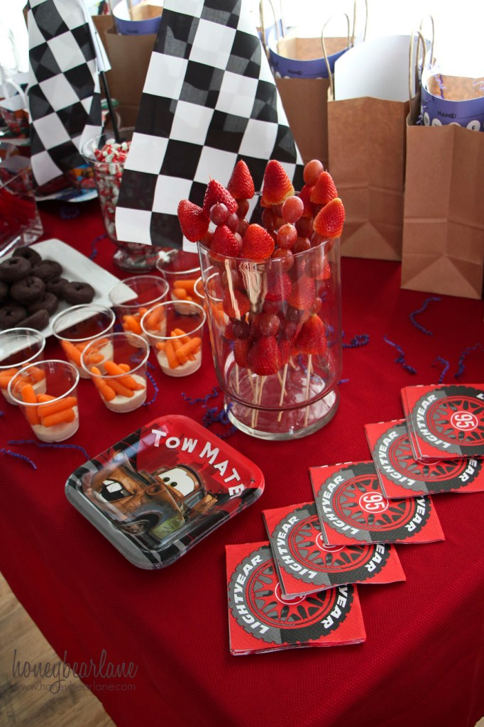 cars party food 1