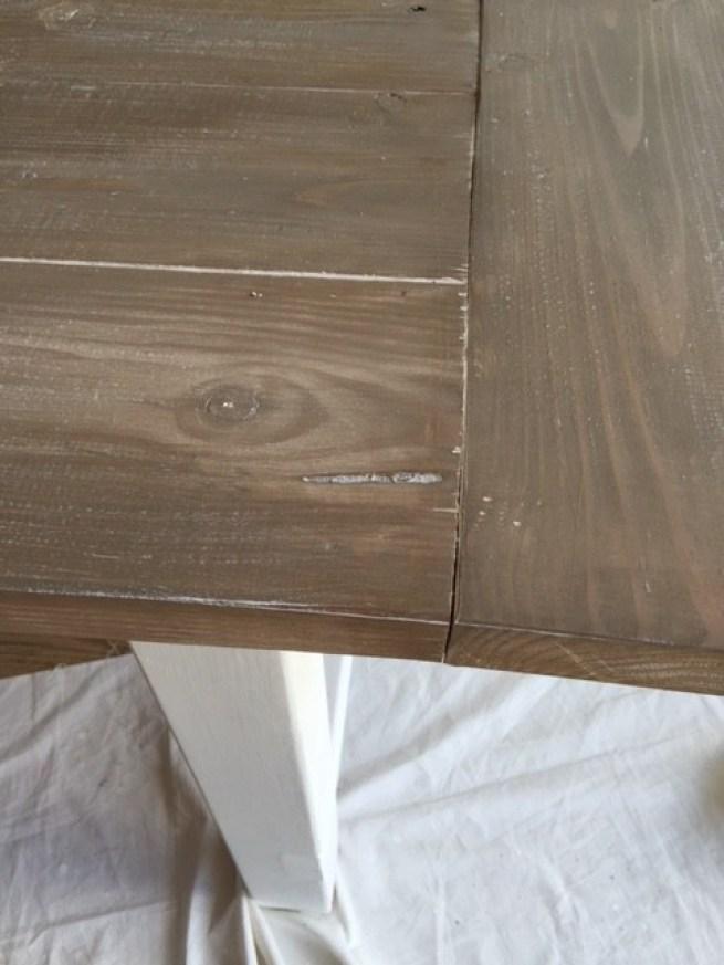 diy weathered wood finish easy