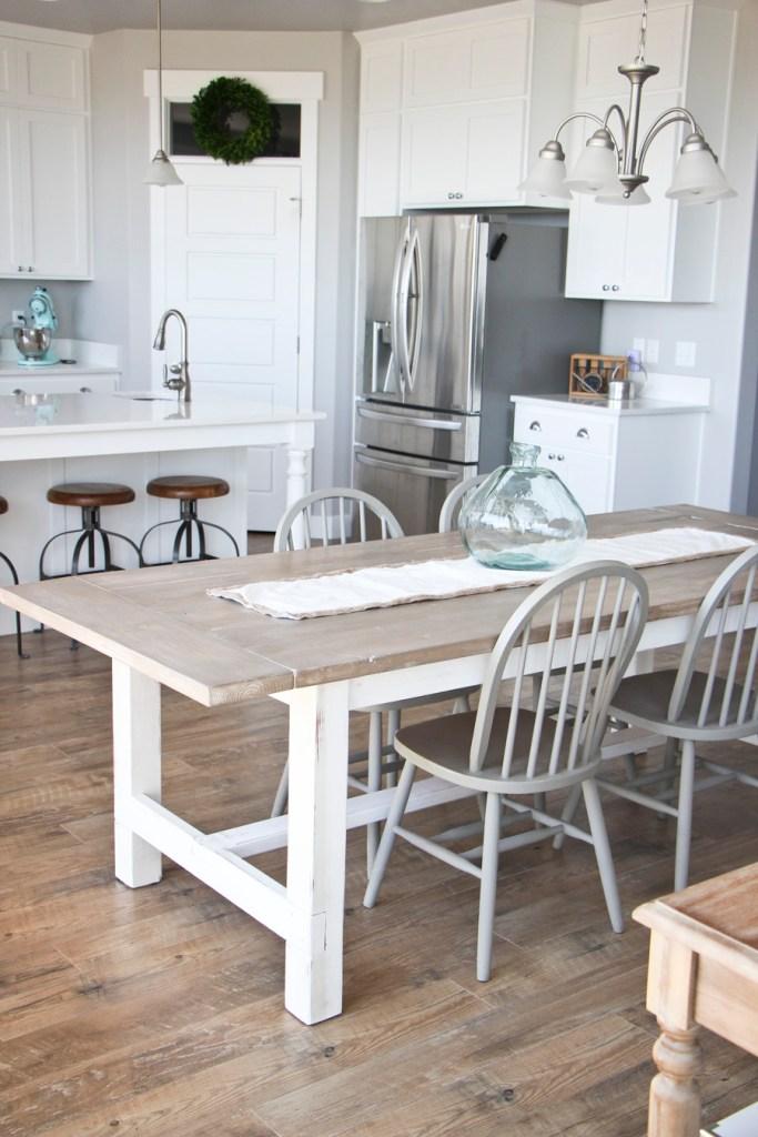 Weathered Farmhouse Table