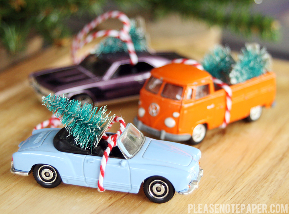 25 Fabulous Amp Easy DIY Ornaments HoneyBear Lane