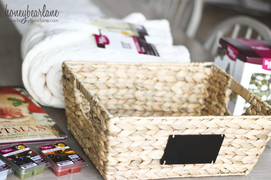 empty gift basket
