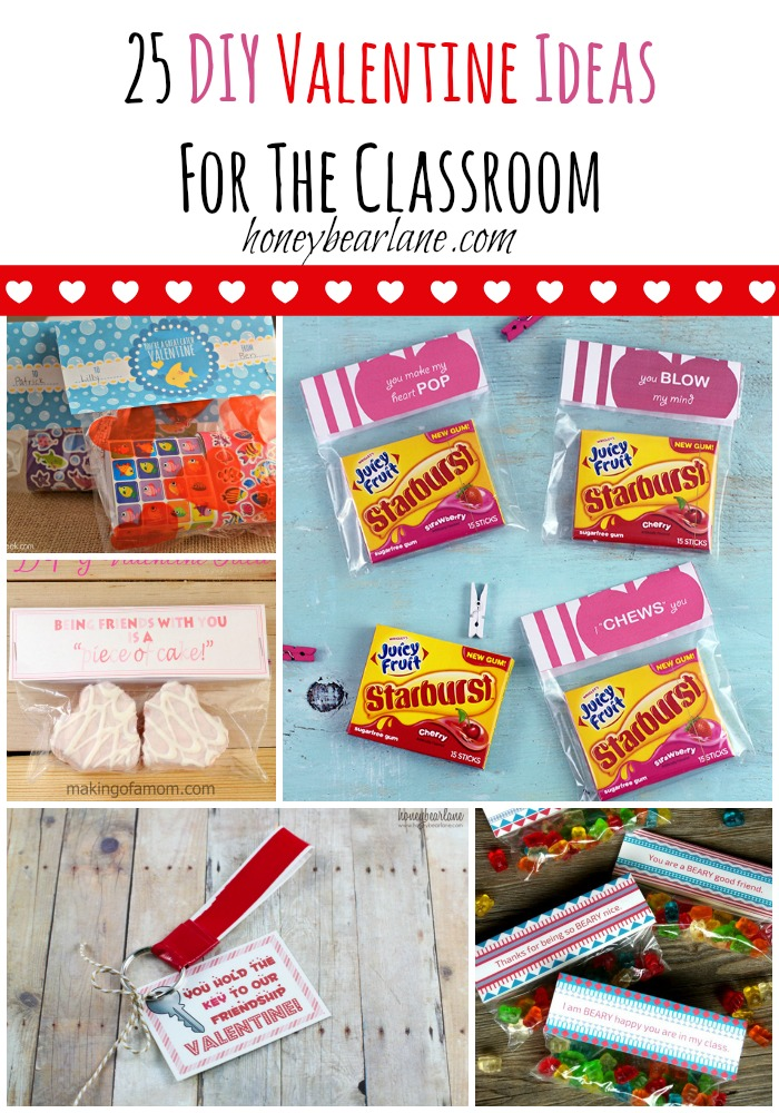 25 Diy Valentine Ideas For The Classroom Honeybear Lane