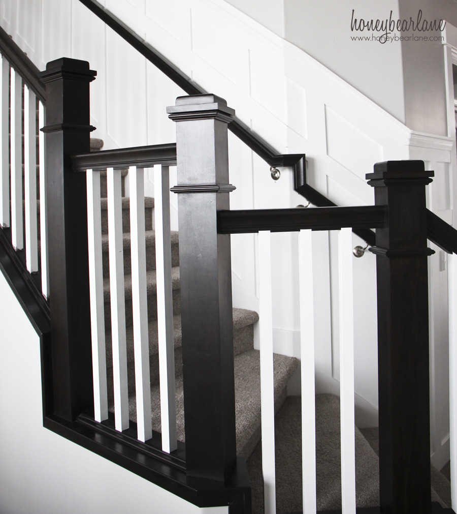 Tips For Painting Stair Balusters Honeybear Lane