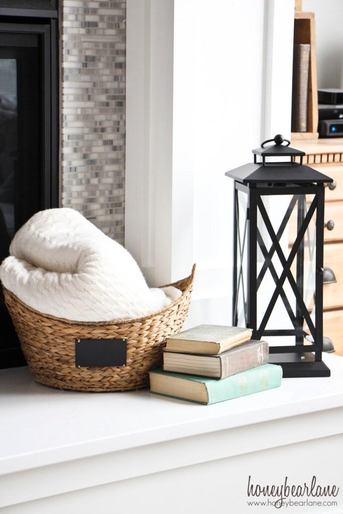 bhg basket and lantern