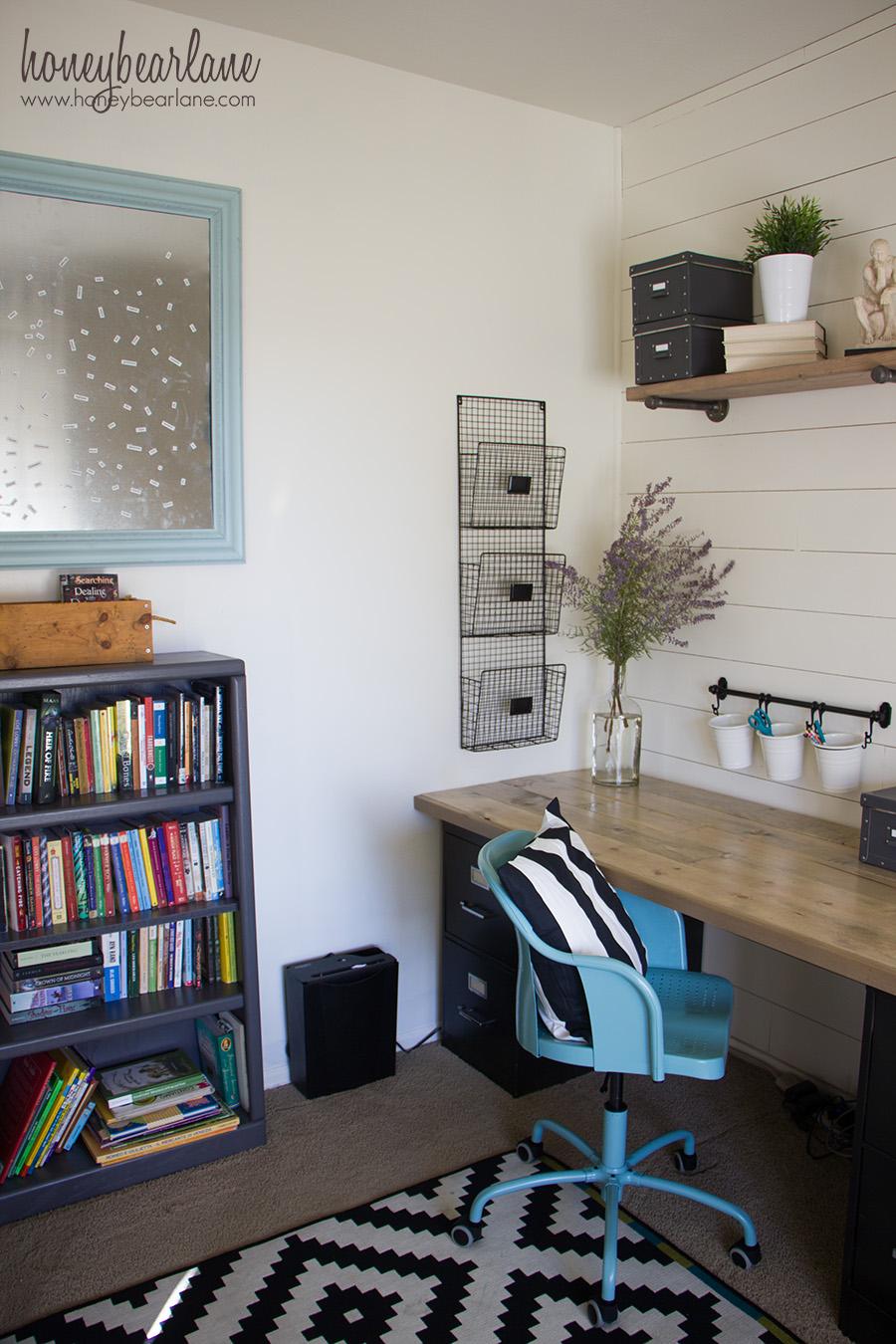 Industrial Farmhouse Home School Room  HoneyBear Lane
