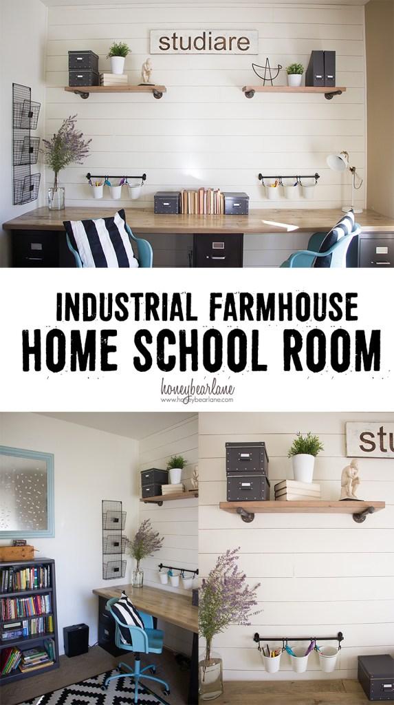 industrial-farmhouse-home-school-room